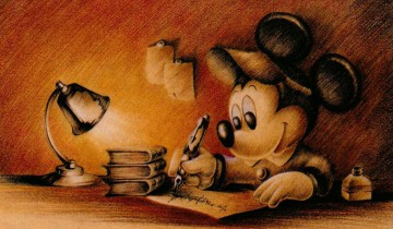 Mickey-Mouse-writing-